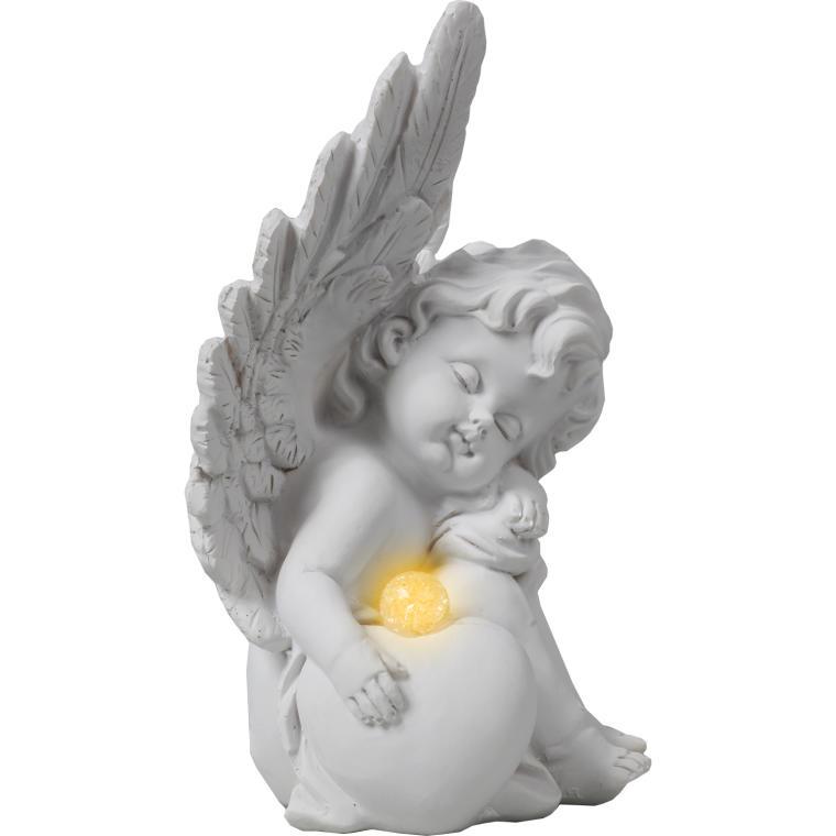 Aniołek z sercem 18 cm
