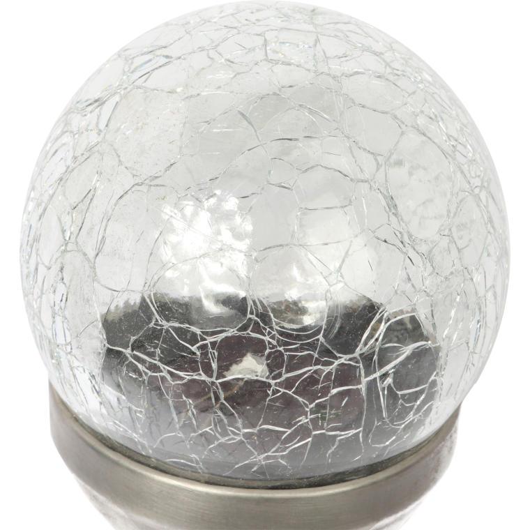 Lampa solarna słupek z kulą