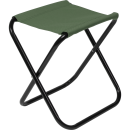 Krzesło turystyczne taboret składany zielony II