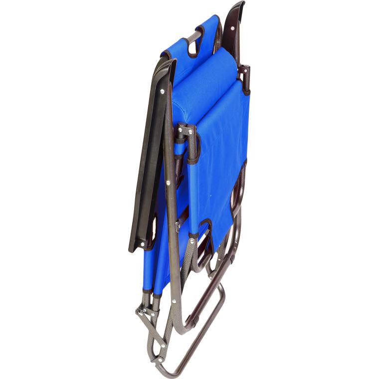 Leżak ogrodowy BS065 niebieski