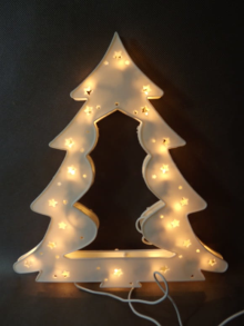 Dekoracja świetlna choinka (35 lampek)