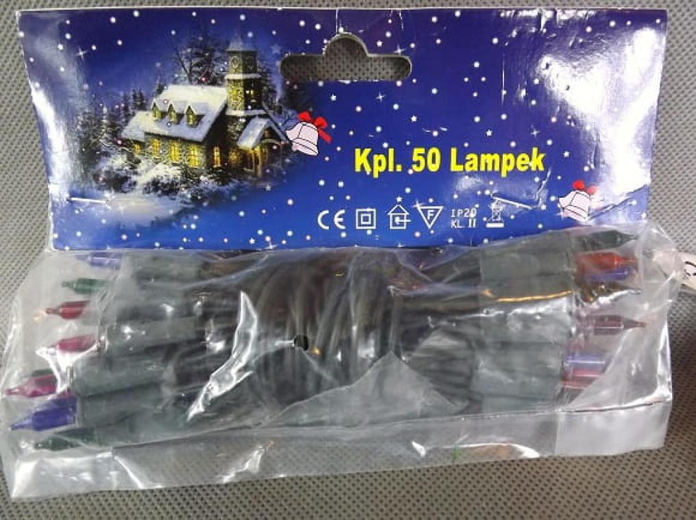 50L Lampki/pomarańczowe