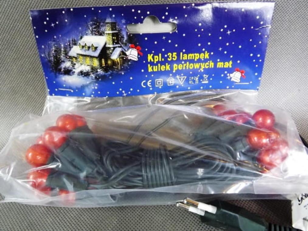 35L Lampki-kulki/pomarańczowe [H35P]