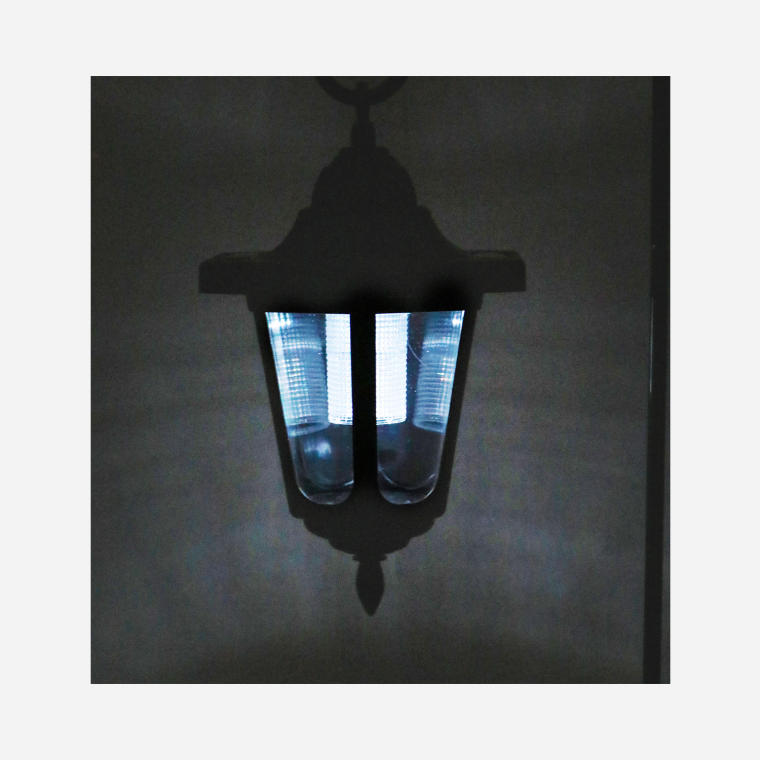 Lampa solarna wisząca