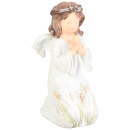 Anioł klęczący biały 11 cm