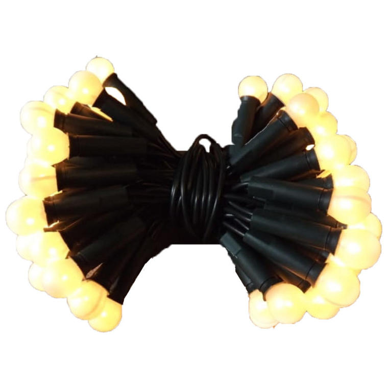 100L Lampki-kulki/perłowe białe