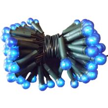 100L Lampki-kulki/niebieskie