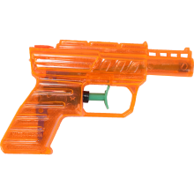 Mały pomarańczowy pistolet na wodę