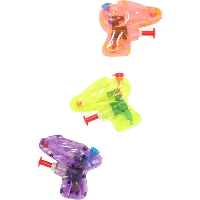 Mini pistolet na wodę żółty