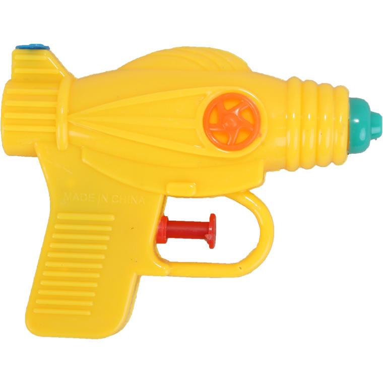 Mała żółta psikawka pistolet