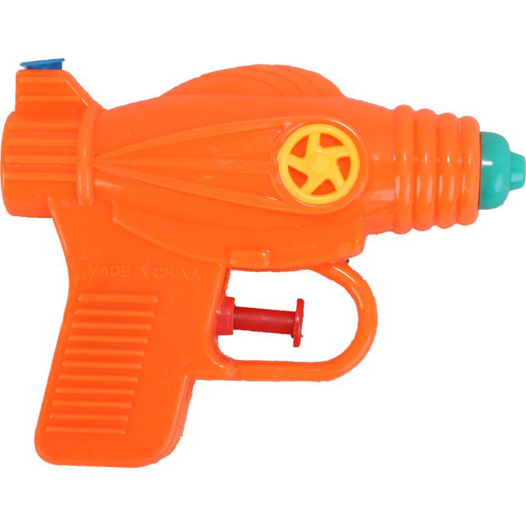 Mała pomarańczowa psikawka pistolet