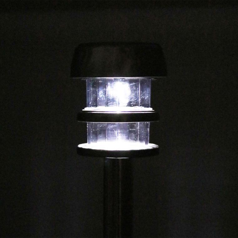 Zestaw 4 okrągłych lampek solarnych