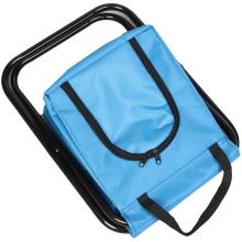 Krzesło turystyczne z torbą izolacyjną niebieskie I