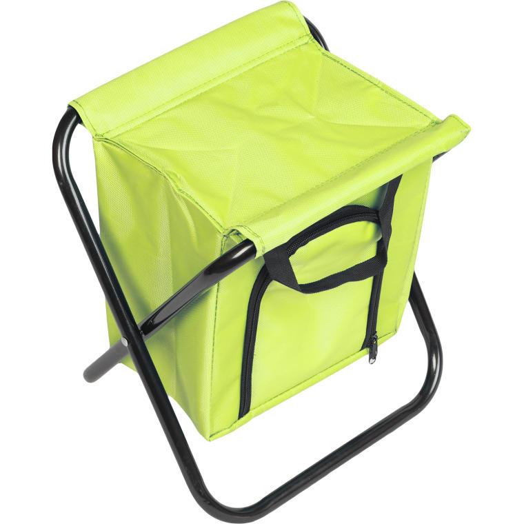 Krzesło turystyczne z torbą izolacyjną zielone