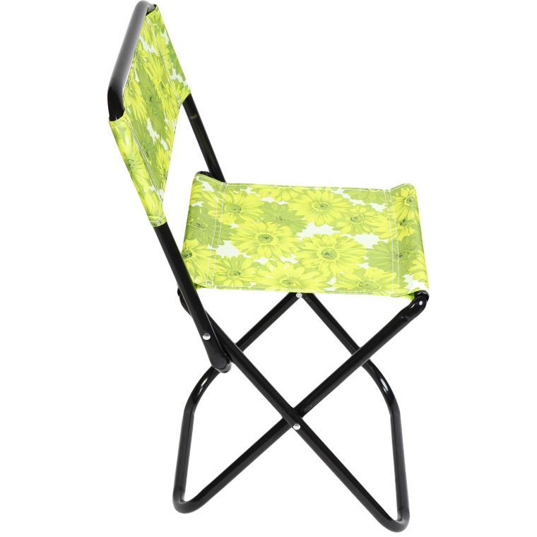 Składane krzesło w kwiaty