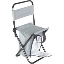 Krzesło turystyczne z torbą izolacyjną szare