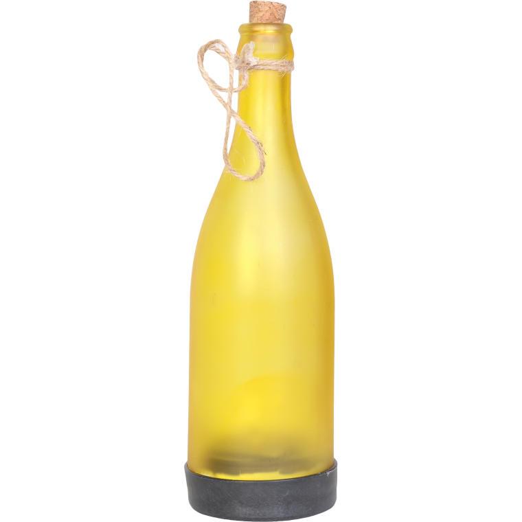 Butelka solarna żółta