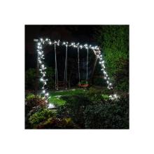 Sznur lampek choinkowych 100 LED FLASH, wewnętrzne, zimny biały