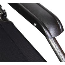 Leżak ogrodowy BS065 czarny