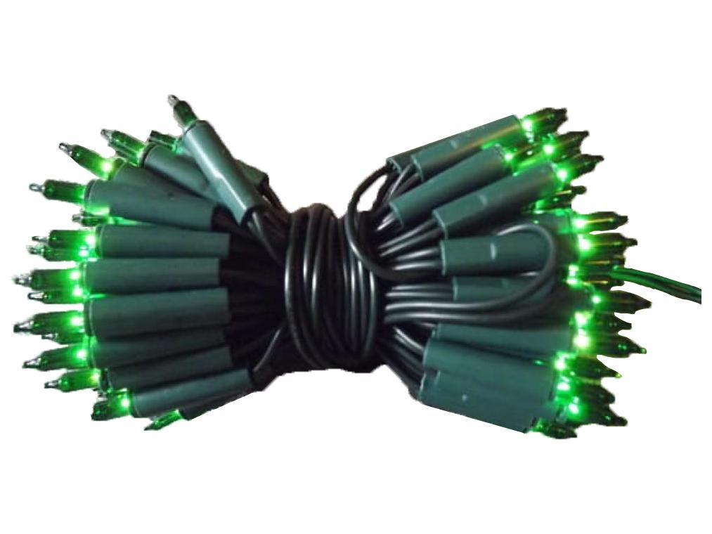 100L Lampki/zielony
