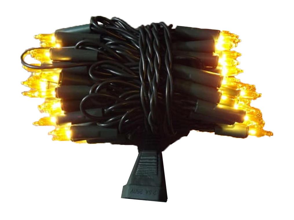 100L Lampki/żółte/d.gn.