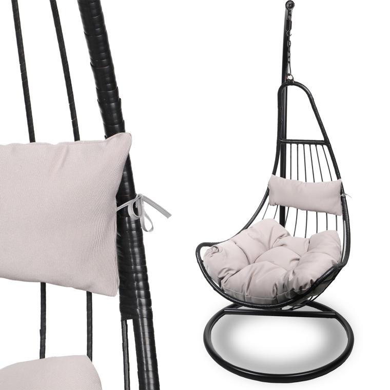 Fotel ogrodowy bujany D350
