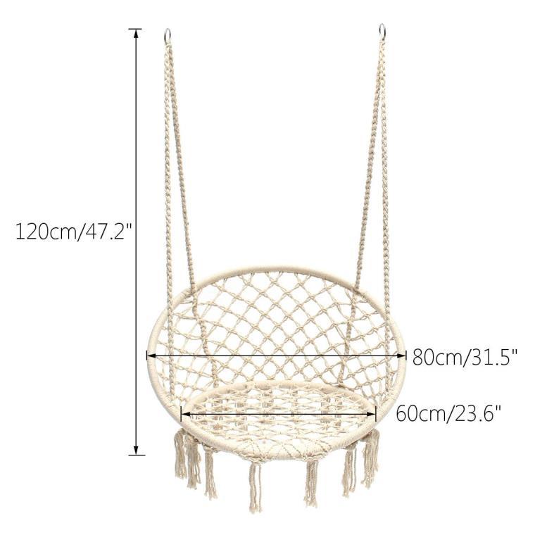 Fotel wiszący bocianie gniazdo