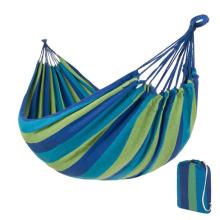 Hamak ogrodowy 1-osobowy niebieski