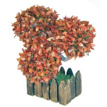 Sztuczne drzewko bonsai czerwone