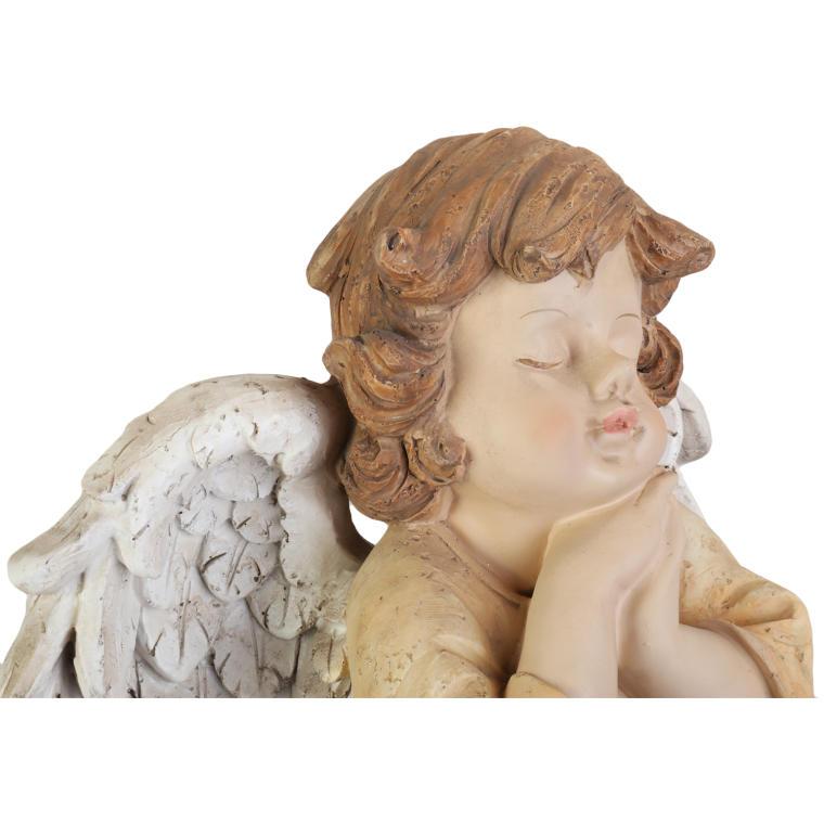 Anioł w kremowej szacie 30 cm