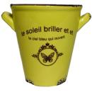 Ceramiczna seledynowa osłonka 10,5 cm