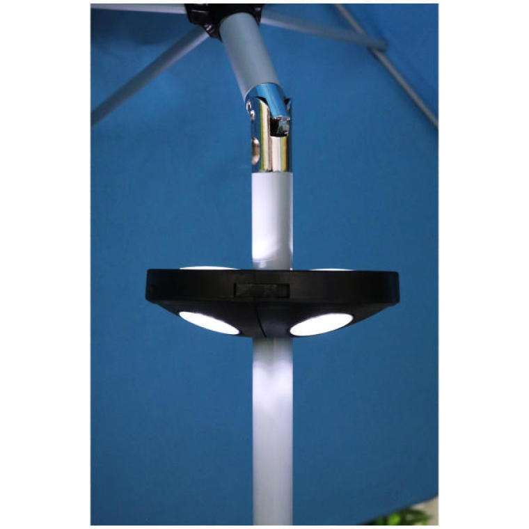 Oświetlenie LED pod parasol